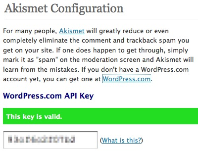 akismet Youve Installed WordPress, So Whats Next?