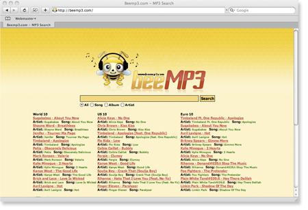 Calle del vento altri 3 siti per scaricare musica gratis for Siti architetti famosi
