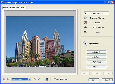 Enhance and fix your images in a few clicks!