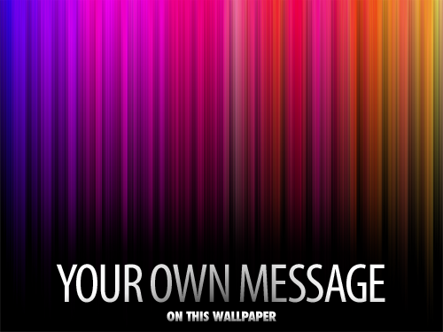 text wallpaper. colorspectrum Wallpapers: