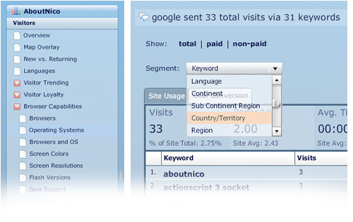 google analytics air beta