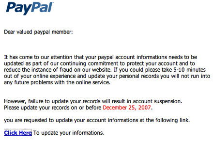 paypal account suspended
