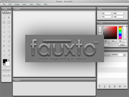 fauxto, online image editor