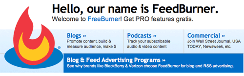 feedburner Youve Installed WordPress, So Whats Next?