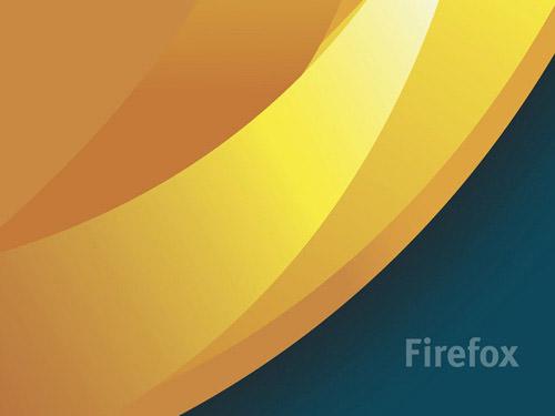 fondo dorado firefox