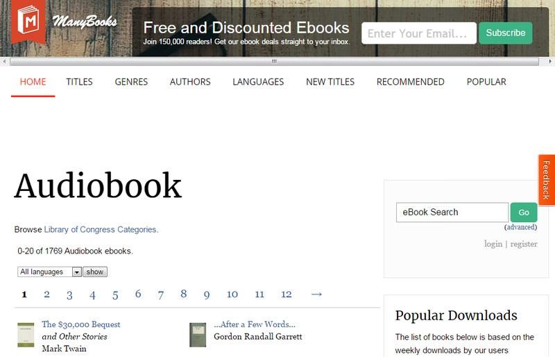 Best Free Audiobooks (159 books)