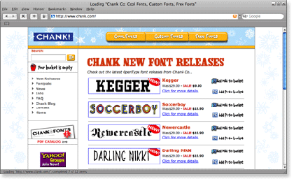 chank 21 Most Visited Free Fonts Site