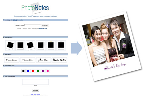 photonotes Create Polaroid In Simple Steps With PhotoNotes