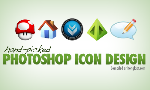 ps icondesign 40+ Hand picked Icon Design Photoshop Tutorials