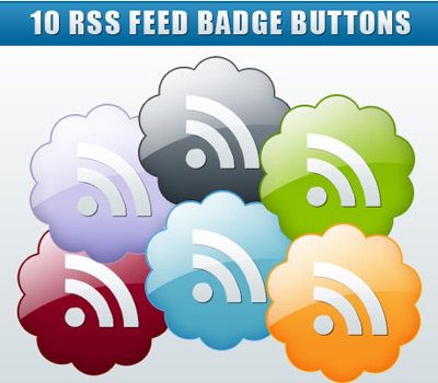 Rss Feed Badge Button