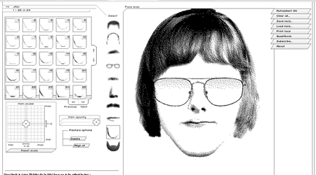sketch face Sketch Faces Online Like Facial Recognition System