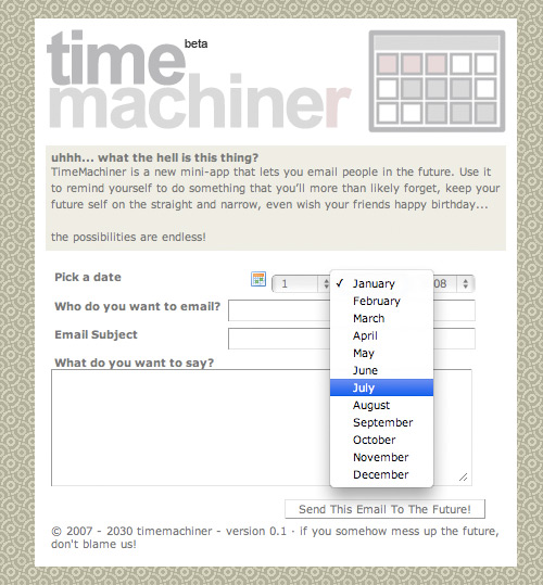 time machiner