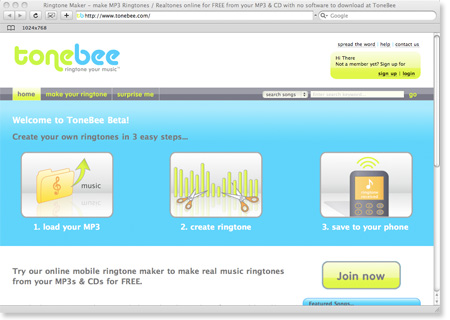 tonebee ring tone maker