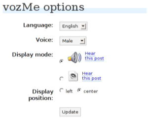 vozmewp for wordpress