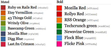 web 2.0 color generator