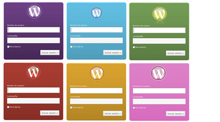 wordpress admin skin